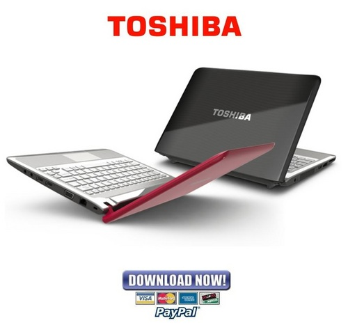 Pay for Toshiba Portege T210 + Satellite T210 & T215 + Satellite Pro T1210 & T215 Service Manual & Repair Guide