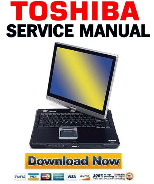 Pay for Toshiba Tecra M4 Service Manual & Repair Guide