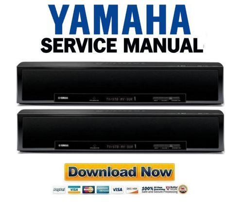 Yamaha Ysp Service Manual