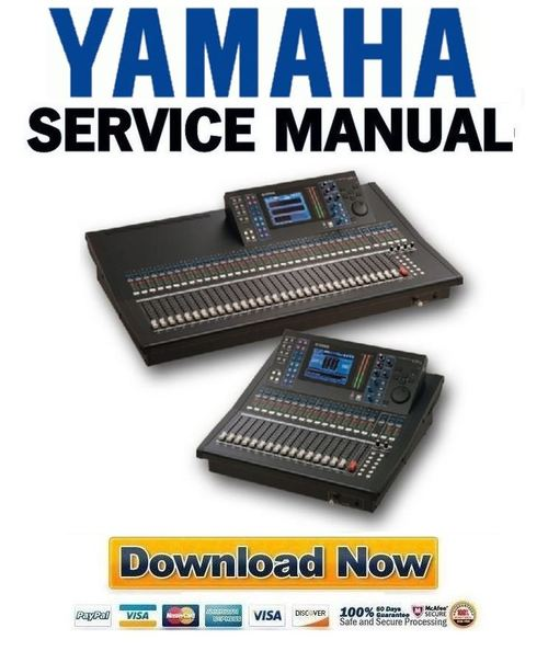 yamaha ls9 16 ls9 32 mixing console service manual