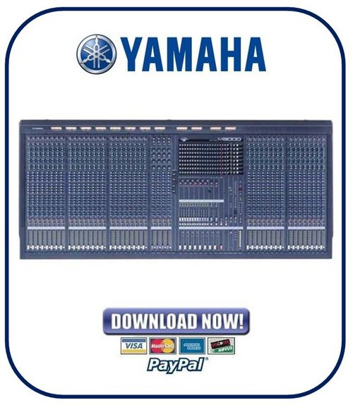 Yamaha m3000a series mixing console service manual for Consol service