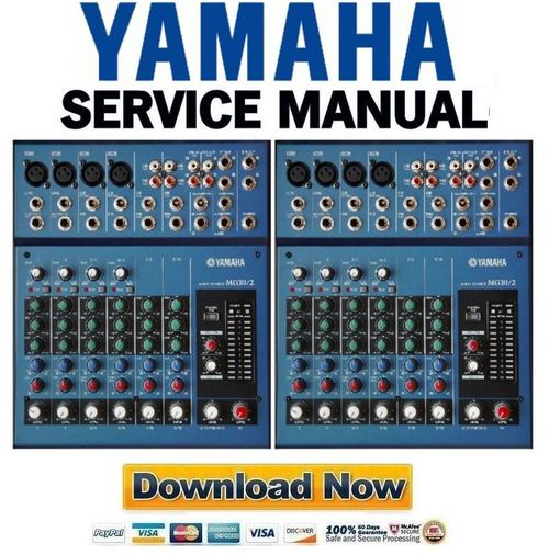 yamaha mg10 2 mixing console service manual repair guide. Black Bedroom Furniture Sets. Home Design Ideas