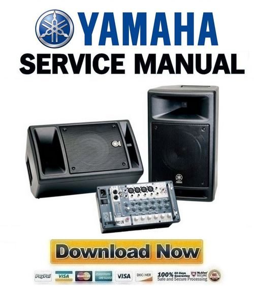 yamaha stagepas 300 service manual repair guide. Black Bedroom Furniture Sets. Home Design Ideas