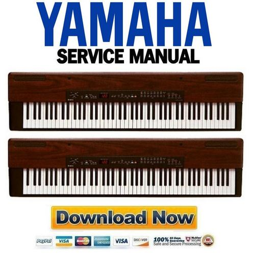 Pay for Yamaha P-120 + P-120S Electronic Piano Service Manual & Repair Guide
