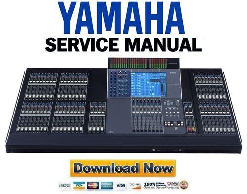 Yamaha m7cl 32 m7cl 48 full service manual repair for Yamaha m7cl 48 price