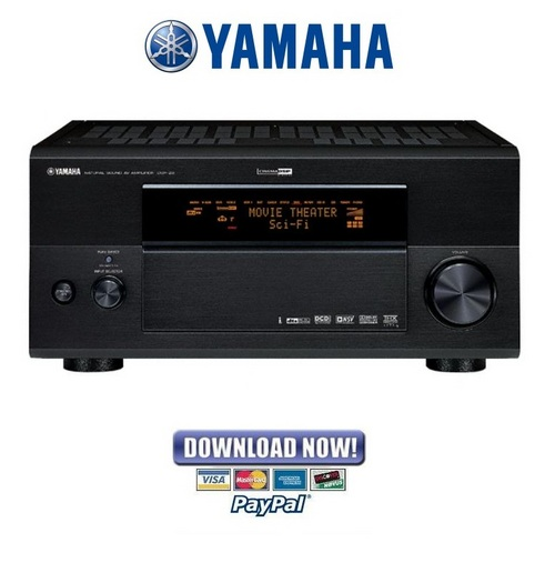 Pay for Yamaha DSP-Z9 + RX-Z9 Receiver Amplifier Service Manual & Repair Guide
