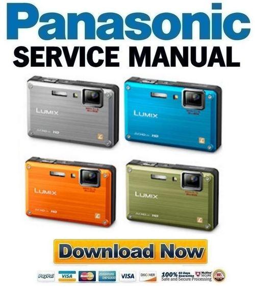panasonic lumix dmc ft1 ts1 service manual repair guide downl rh tradebit com
