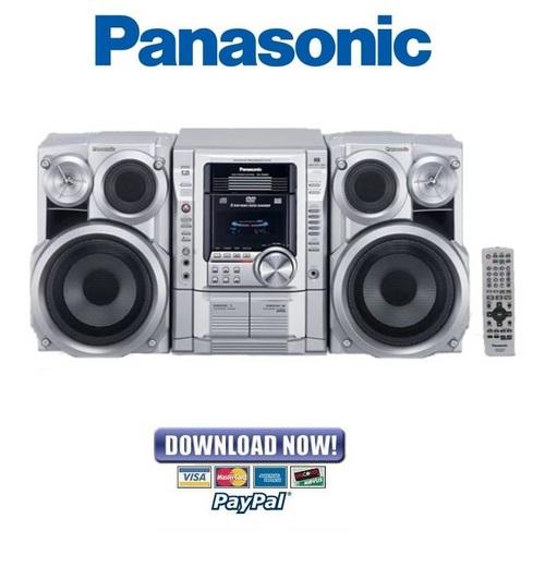 Pay for Panasonic SC-VK62D SA-VK62D Service Manual & Repair Guide
