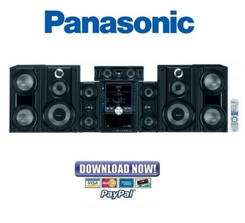 Panasonic SC-VK960 SA-VK960 Service Manual & Repair Guide