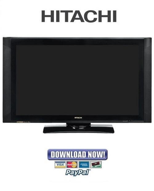 hitachi 42hdx62 42hdt52 42hds52 service manual repair guide rh tradebit com