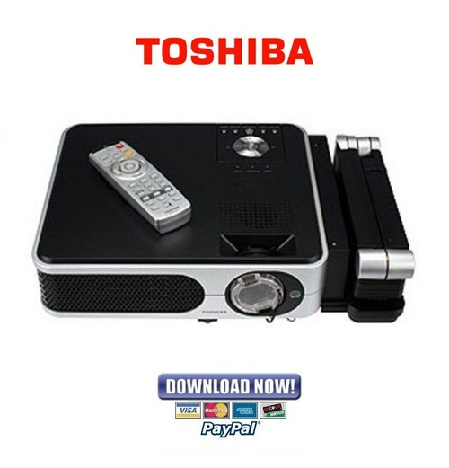 Pay for Toshiba TLP-X2500 + XC2500 Series Official Service Manual & Repair Guide