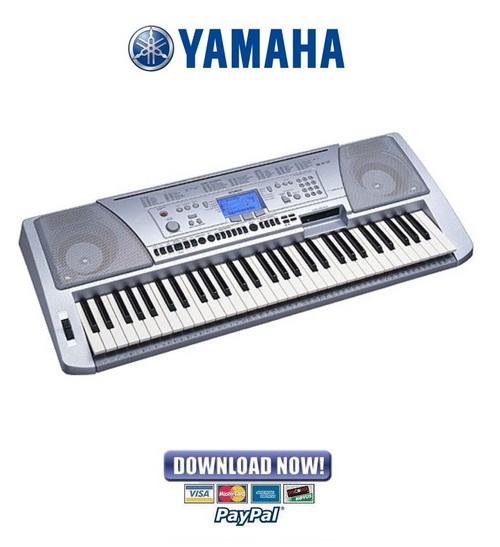 Yamaha portatone psr 450 service manual repair guide for Yamaha portatone keyboard