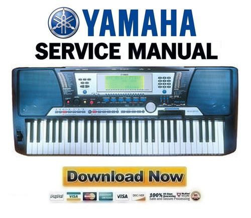 Yamaha Psr  Service Manual