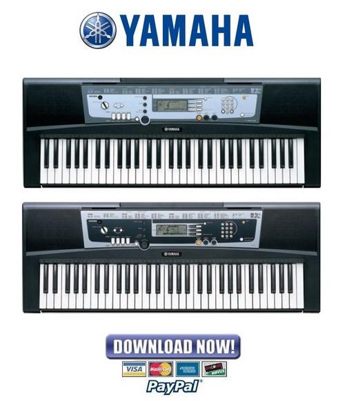 Yamaha portatone psr e213 ypt 210 service manual for Yamaha portatone keyboard