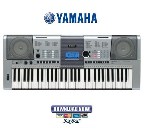 Yamaha Portatone Electronic Keyboard Ypt Manual