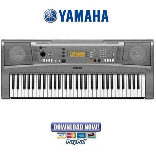 yamaha portatone psr vn300 service manual repair guide download rh tradebit com yamaha portatone electronic keyboard ypt-300 manual Yamaha Portatone Electronic Keyboard Psr 79