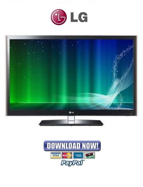 Pay for LG 42LW4500 Series ZB LED TV Service Manual & Repair Guide