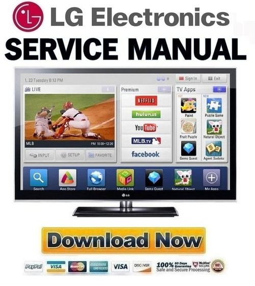 lg 50pz950 50pz950 ua full service manual repair guide