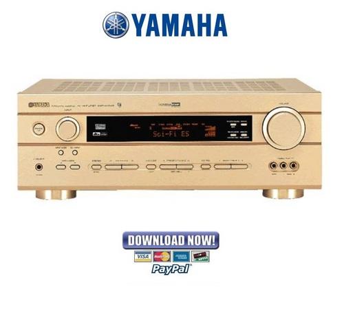 Yamaha DSP-AX540 + AX440 Service Manual & Repair Guide