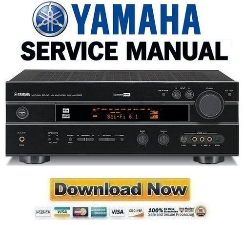 yamaha htr 5140 5140rds rx v495 v495rds service manual. Black Bedroom Furniture Sets. Home Design Ideas