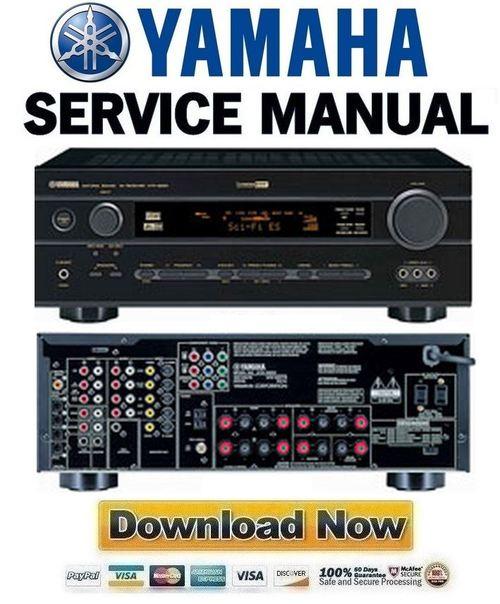 yamaha htr 5650 5650rds 5640 5640rds service manual