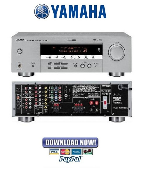 Yamaha Rx V Instructions
