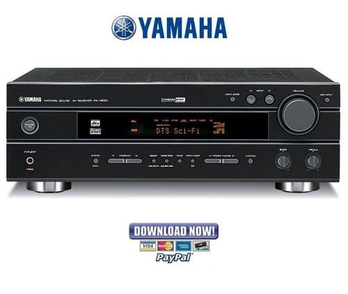 Yamaha rx v530rds for Yamaha ysp 5600 manual