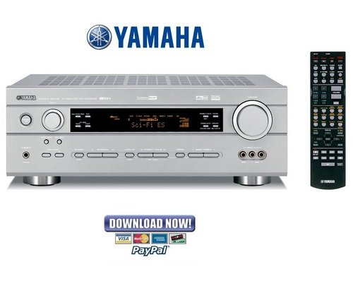 Replace Yamaha Rx V