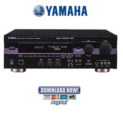 Pay for Yamaha RX-V595a HTR-5150 RX-V595aRDS Service Manual & Repair Guide
