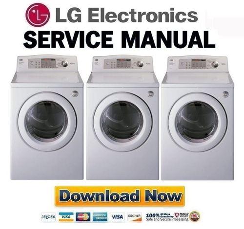 lg dlg2532w dlg0332w service manual repair guide. Black Bedroom Furniture Sets. Home Design Ideas
