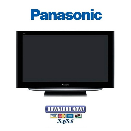 Pay for Panasonic TH-42PY85P + 42PZ85B + 42PZ85E Service Manual & Repair Guide