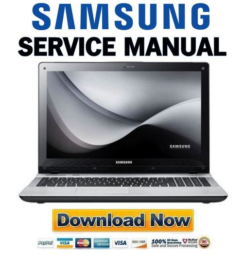Pay for Samsung QX410 + QX510 Service Manual & Repair Guide