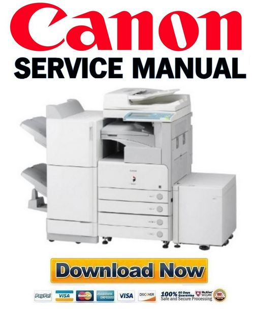 Pay for Canon imageRUNNER iR 3225 3230 3235 3245 Service Manual + Parts Catalog