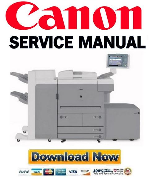 Pay for Canon imageRUNNER iR 7105 7095 7086 Service Manual Repair Guide