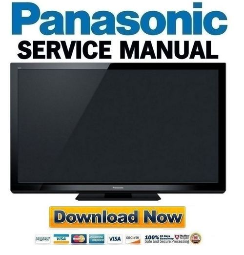 Pay for Panasonic Viera TC-P50S30 Service Manual & Repair Guide