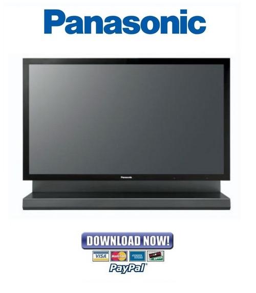 Pay for Panasonic Viera TH 103PF10 Series Service Manual & Repair Guide