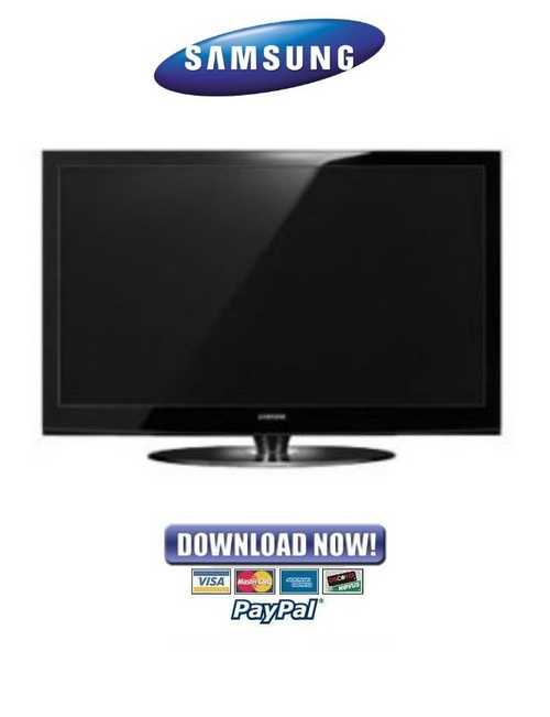 samsung plasma tv wiring diagram