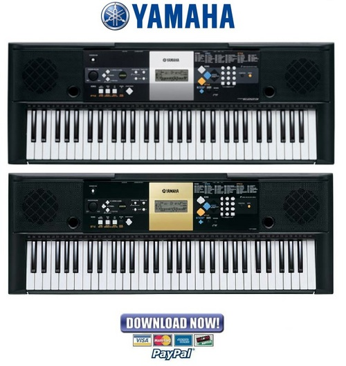 yamaha psr e223 ypt 220 service manual repair guide download rh tradebit com yamaha psr-220 user manual yamaha ypt-220 manual pdf