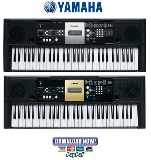 Yamaha Psr E Manual