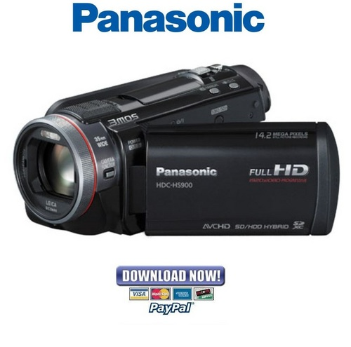 panasonic hdc hs900 series service manual repair guide. Black Bedroom Furniture Sets. Home Design Ideas