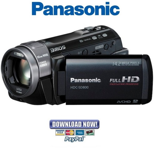 panasonic hdc sd800 service manual repair guide. Black Bedroom Furniture Sets. Home Design Ideas
