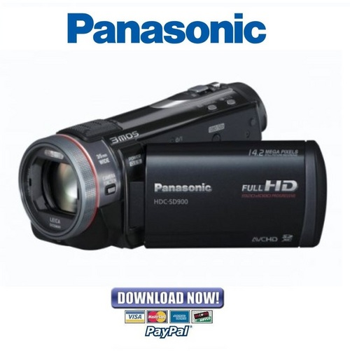 panasonic hdc sd900 tm900 series service manual repair. Black Bedroom Furniture Sets. Home Design Ideas