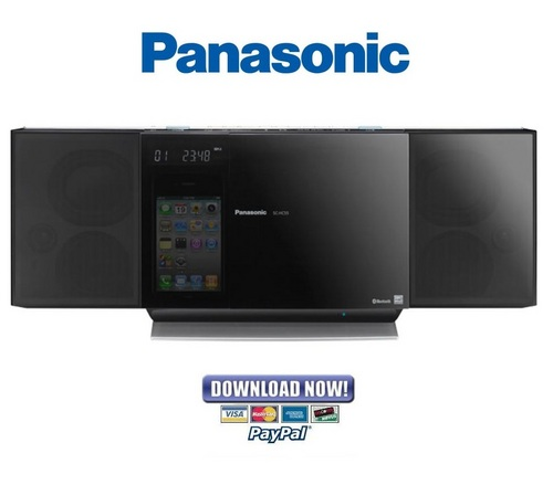 panasonic sc hc55 hc55p hc55pc service manual repair. Black Bedroom Furniture Sets. Home Design Ideas