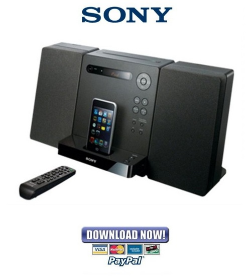 Pay for Sony CMT-LX20i Service Manual & Repair Guide