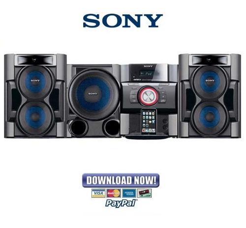 Pay for Sony HCD EC69i EC79i EC99i Service Manual & Repair Guide