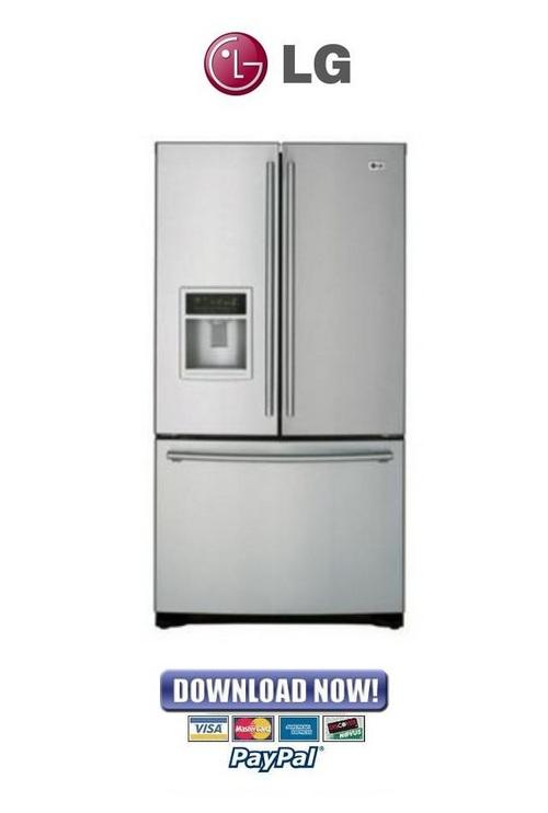 lg refrigerator service repair manual gettdigest. Black Bedroom Furniture Sets. Home Design Ideas