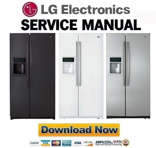 Pay for LG LSC27950SW LSC27950SB LSC27950ST Service Manual