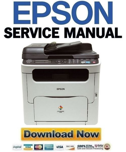 Pay for Epson Aculaser CX16 + CX16NF Service Manual & Repair Guide