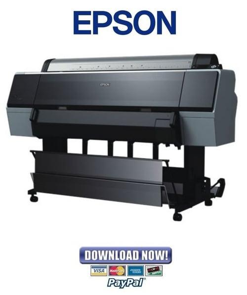 Epson Stylus Pro 7700 7710 7900 7910 9900 9910 Service Manual  U0026 Rep