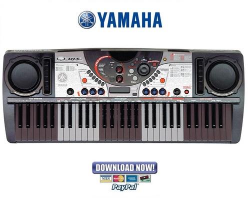 yamaha djx ii 2 service manual repair guide download manuals a rh tradebit com yamaha djx ii manual Yamaha DJX Keyboard